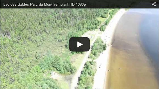 Videos in st donat quebec laurentians lodging hotels for Lac miroir mont tremblant